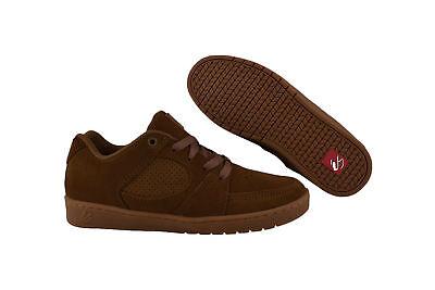 Es Skateboard-schuhe (eS Accel Slim brown/gum Skater Sneaker/Schuhe braun)