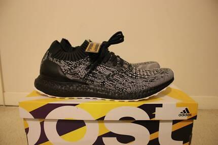 Adidas Ultra Boost Uncaged Glitch Pattern Black Boost