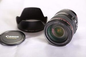 Canon f4 24-105 IS L USM Lens