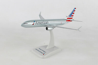 Hogan Wings American Airlines 737 Max 8 1/200 W/Gear HG10918G, New