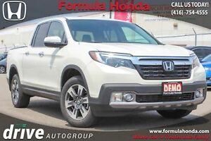 2018 Honda Ridgeline Touring EXECUTIVE DEMO | TOP OF LINE | P...