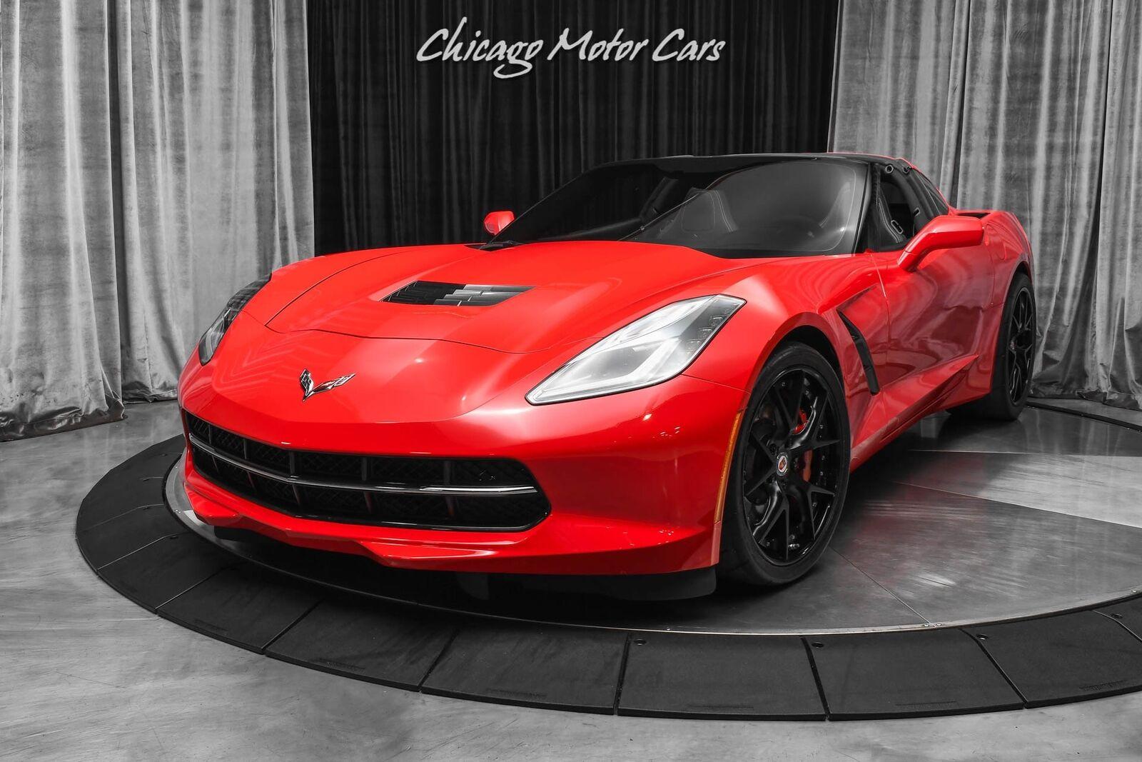 2014 Red Chevrolet Corvette Stingray 2LT | C7 Corvette Photo 2