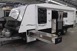 2014 MAJESTIC KNIGHT 21'6'' PHASE 2 CARAVAN Kilburn Port Adelaide Area Preview