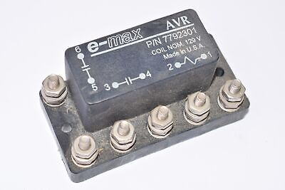 E-max Avr Relay 7792301 Auxiliary Voltage Relay Coil Nom.129v