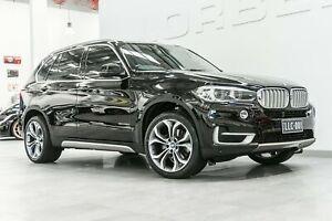 2015 BMW X5 F15 MY15 sDrive 25D Black Sapphire 8 Speed Automatic Wagon Port Melbourne Port Phillip Preview