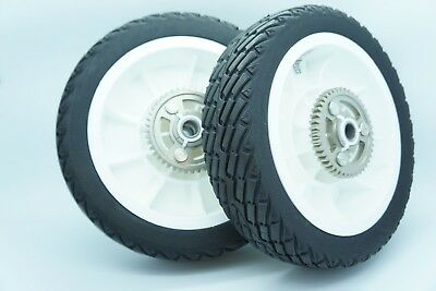 GENUINE OEM TORO/LAWNBOY PART # 92-1042 WHEELS (SET OF 2) LAWN BOY SILVER SERIES