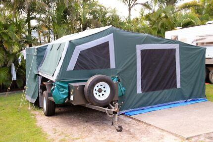 2005 Offroad Camel Beachcomber Camper Trailer (Australian made) Bogangar Tweed Heads Area Preview
