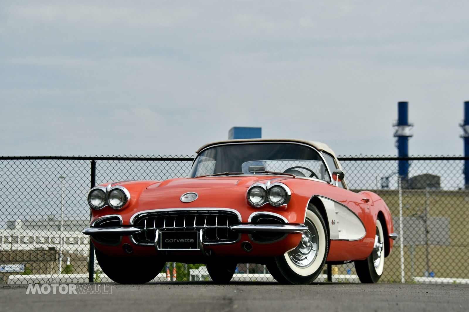 1958 Red Chevrolet Corvette   | C1 Corvette Photo 2