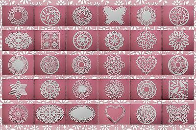 Brother ScanNCut Doily templates CD1010