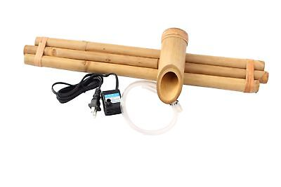 Bamboo Accents Zen Garden Water Fountain Spout, Complete Kit includes