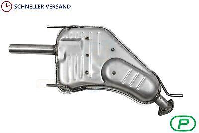 1996-2002 Nachschalldämpfer NSD Auspuff Endtopf Opel Vectra B  Bj