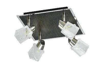 LAMPARA DE TECHO LED DE 4 FOCOS G9 4x40W