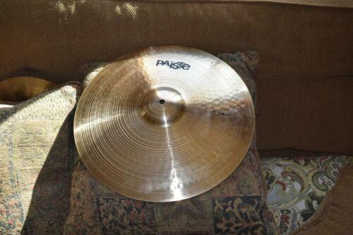 """Paiste Prototype 17"""" shimmering crash cymbal"""