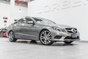 2013 Mercedes-Benz E400 207 MY13 Palladium Silver 7 Speed Automatic Coupe Port Melbourne Port Phillip Preview