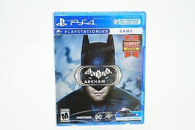 Batman Arkham VR: Playstation 4 [Brand New] (Warner Bros Batman Arkham Vr Playstation 4)