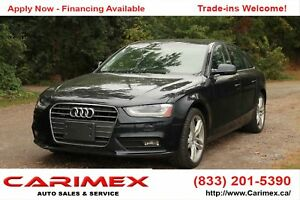 2013 Audi A4 2.0T Premium Plus NAVI | SUNROOF | BLUETOOTH | AWD