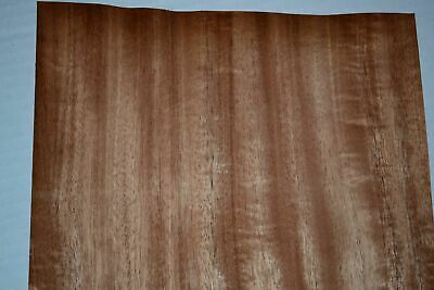 Mahogany Wood Veneer Sheets 10 X 45 Inches 142nd Blemished  F8629-8