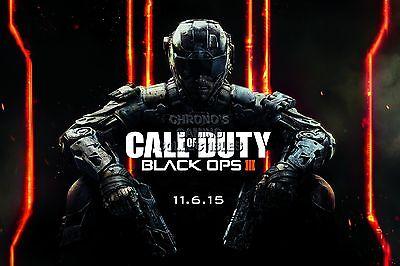 RGC Huge Poster - Call of Duty Black Ops III PS4 PS3 XBOX ONE 360 II - (Call Of Duty Black Ops Ii Ps4)