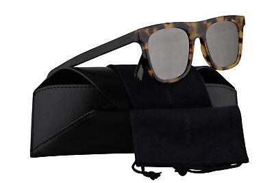 Christian Dior Homme Diorwalk Havana Sonnenbrille Schwarz W / Grau Silber