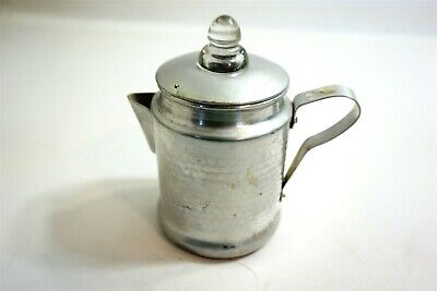 Vintage Aluminum stovetop coffee percolator from Japan ~ hammered aluminum
