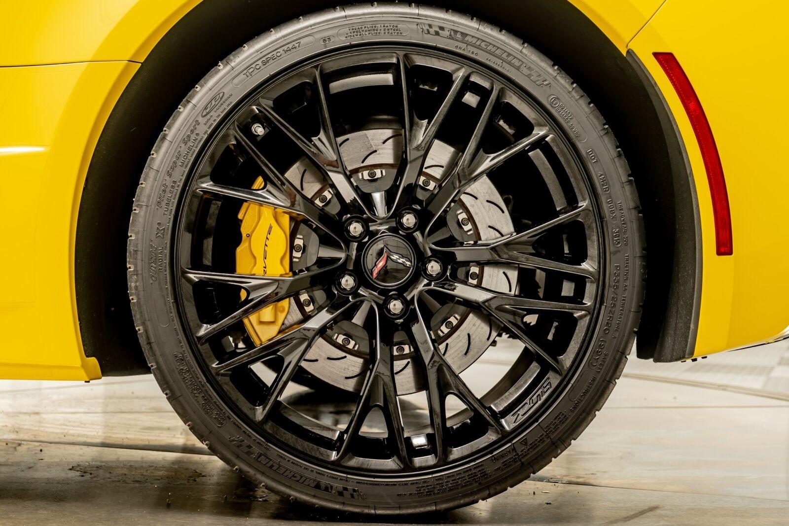 2016 Yellow Chevrolet Corvette Z06  | C7 Corvette Photo 10