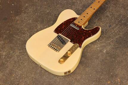 1972 Fernandes Japan Telecaster Electric Guitar MIJ (Cream)