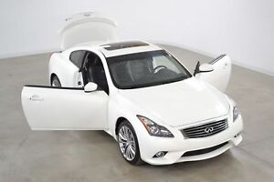 2013 Infiniti G37X S Coupe 4WD Cuir*Toit Ouvrant*Camera Recul*