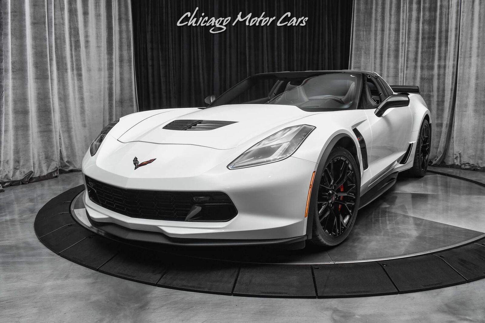 2019 White Chevrolet Corvette Z06 2LZ   C7 Corvette Photo 2