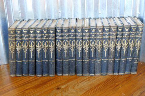 1919 Complete Set BOOK OF KNOWLEDGE illustrated RARE children