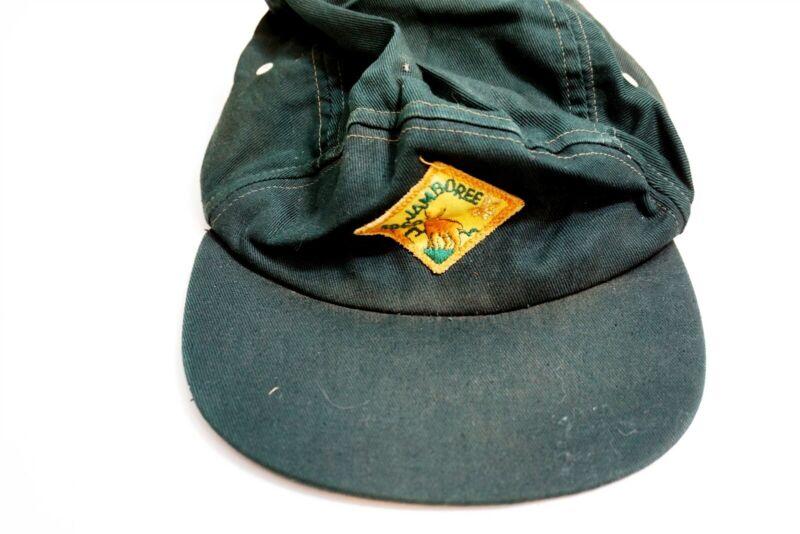 Vintage Boy Scout 1969 National Jamboree 7th Idaho original CAP HAT with patch