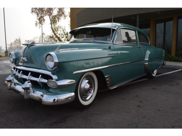 Gorgeous 1954 chevrolet 210 bel air 2 door sedan for 1954 chevy 210 2 door
