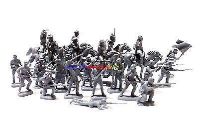 New Italeri 1/72 American Civil War 6 Confederate Cavalry & 16 Infantry Soldier