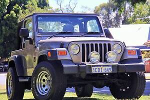 2005 Jeep Wrangler 65th Anniversary Manual 4x4 MY06 Carlisle Victoria Park Area Preview