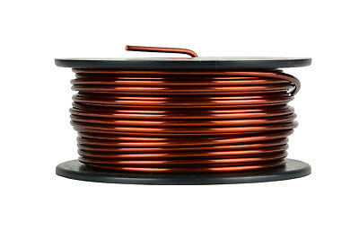 Temco Magnet Wire 11 Awg Gauge Enameled Copper 1lb 40ft 200c Coil Winding