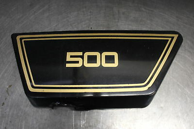 1976 <em>YAMAHA</em> XS500 <em>XS 500</em> LEFT SIDE COVER PANEL COWL FAIRING