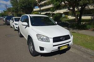 Year2011 Toyota RAV4 white Auto 150000km rego 25/08/2017 Chatswood Willoughby Area Preview