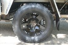 """KMC ROCKSTAR XD 18"""" Rims with Mickey Thompson Tyres Canberra Region Preview"""