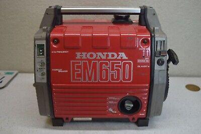 Honda Em650 Gas Powered Portable Camping Generator