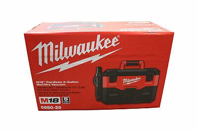 Milwaukee 0880-20 18-volt Cordless Wetdry Vacuum Bare Tool