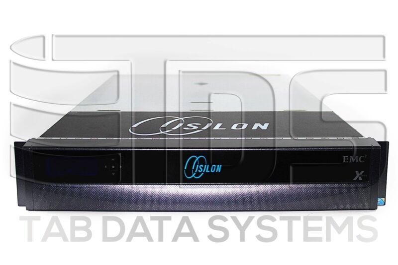 """EMC Isilon X200 24TB Storage Node w/ 12x 2TB 7.2K 3.5"""" SATA HDD, 10GbE, Railkit"""