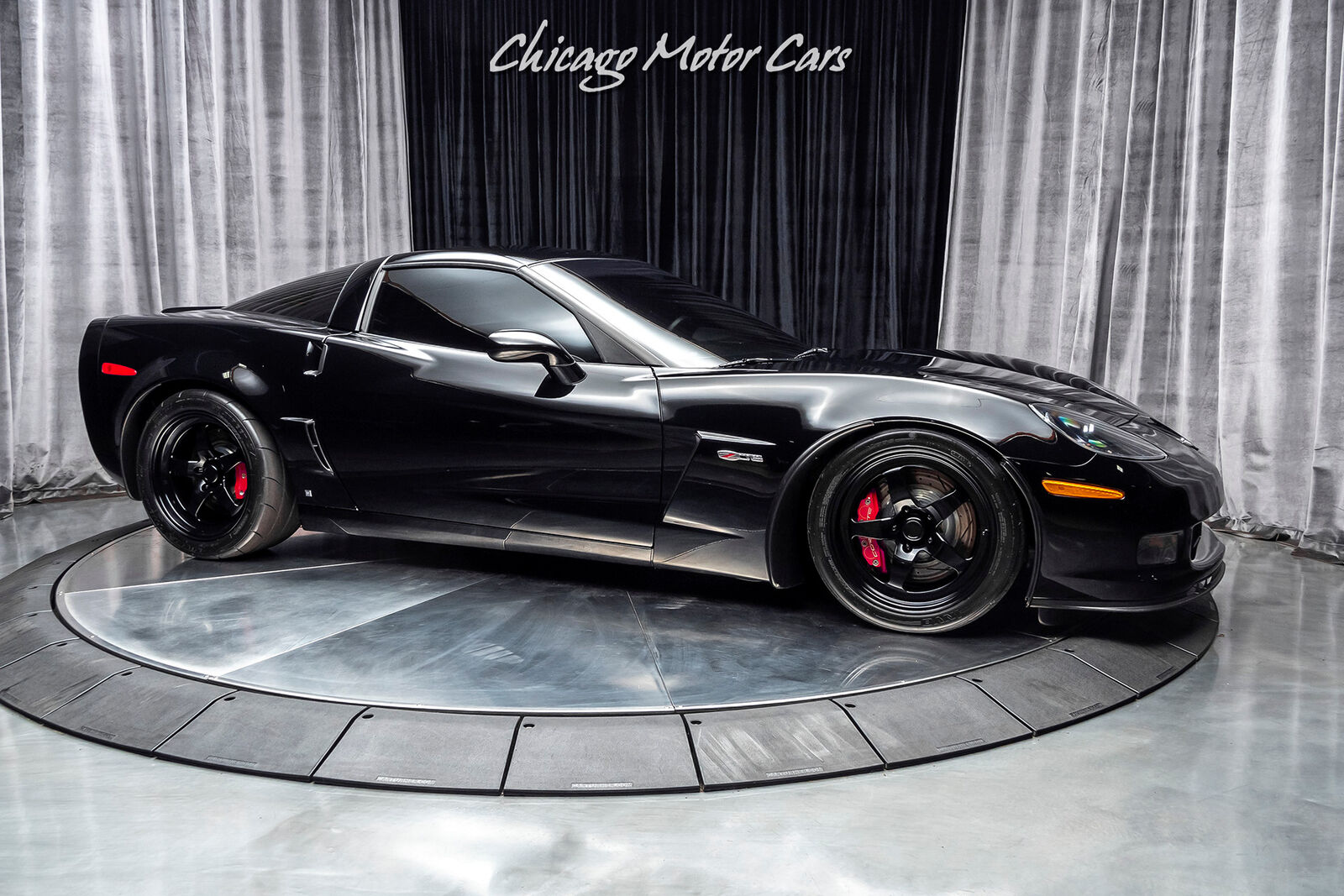 2008 Black Chevrolet Corvette Z06 3LZ | C6 Corvette Photo 6