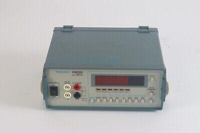 Tektronix Dm2510 Programmable Digital Multimeter - Good Condition