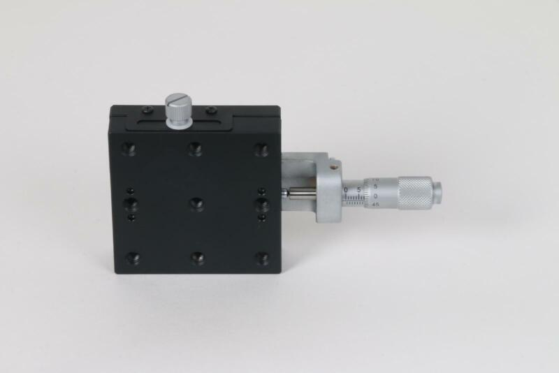 OptoSigma TSD-651C-M6 Optical X-Axis Linear Stage 65x65mm w/ Micrometer