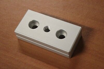 8020 Aluminum 40 Series Base Plate With M10 Tap Part 40-2130 Coring C4-08