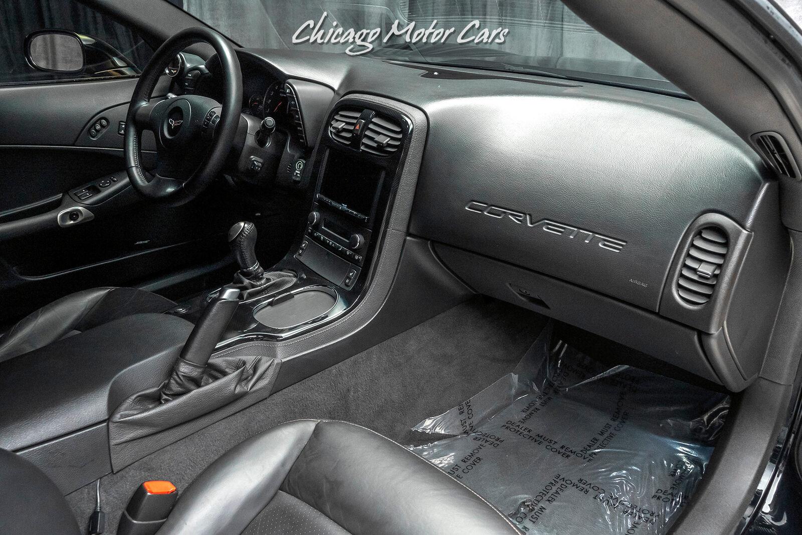 2008 Black Chevrolet Corvette Z06 3LZ | C6 Corvette Photo 10