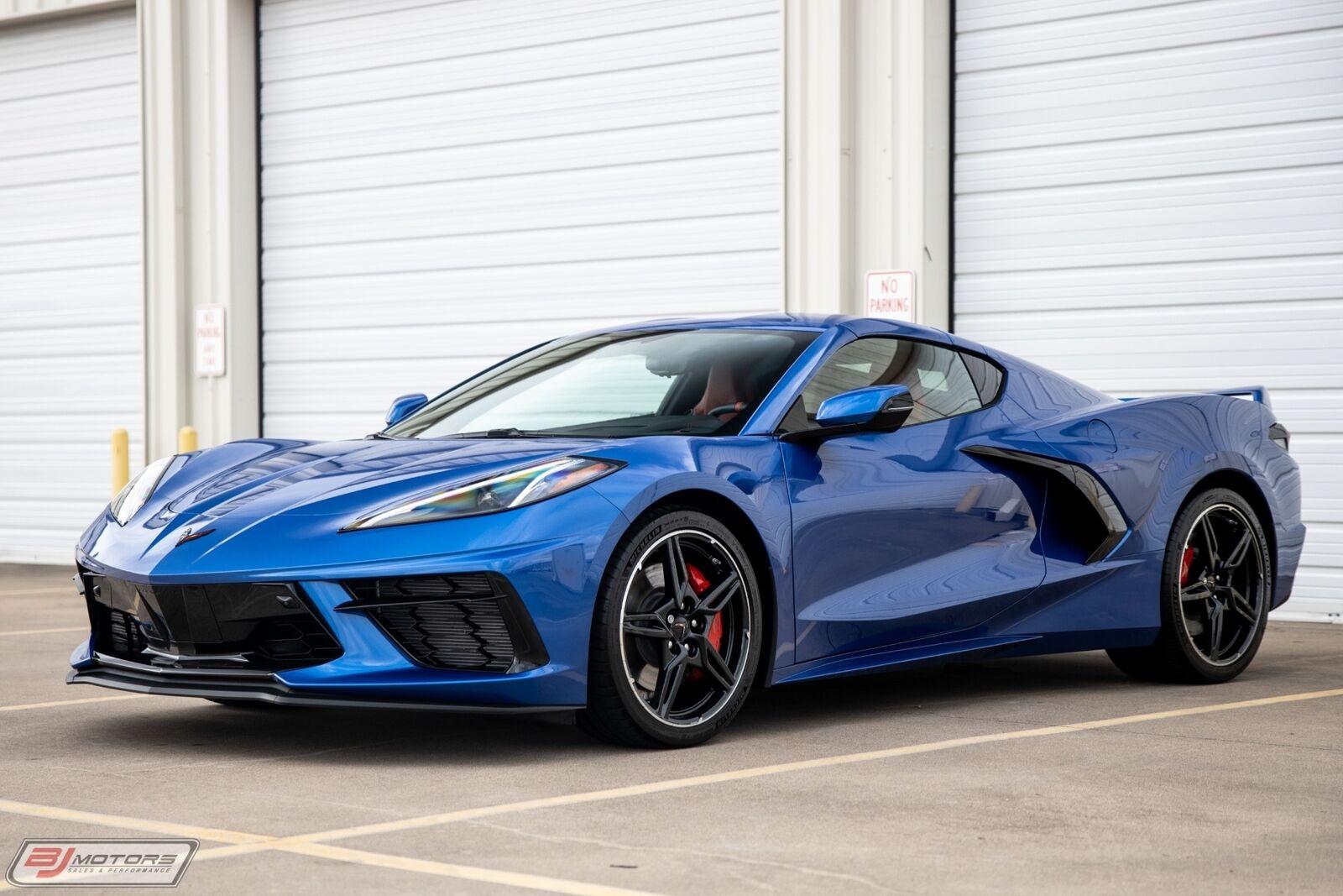 2020 Blue Chevrolet Corvette  2LT | C7 Corvette Photo 8