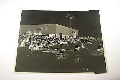 #1115 PHOTO NEGATIVE - SHOPPING MALL EXTERIOR - (Milwaukee Mall)