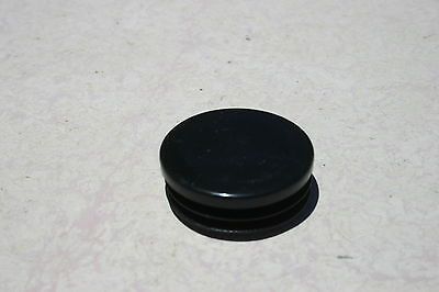 2 Inch Round Plastic Tubing Plug End Cap Lot Of 4