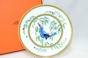 Hermes Toucan Porcelain Dinner Plate 10.8
