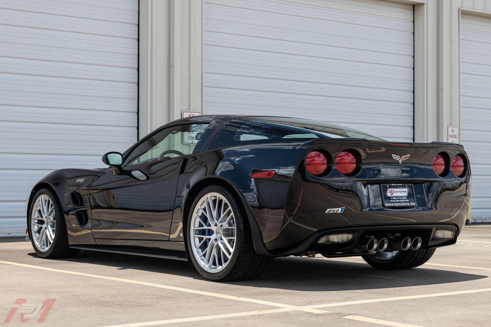 2009 Black Chevrolet Corvette ZR1    C6 Corvette Photo 10